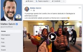 Salvini posta il video delle avvocate di Torolì che cantano Bella Ciao