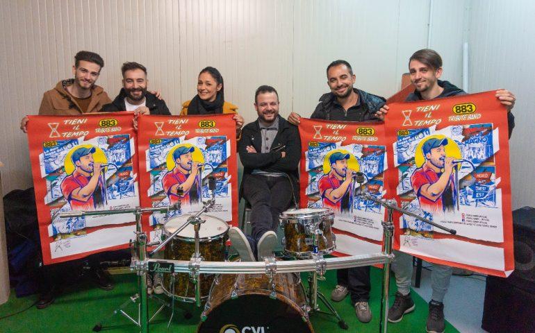 """""""Tieni il tempo"""": la cover band sarda degli 883 varca i confini dell'isola con un concerto nel Lazio"""