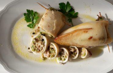 La ricetta Vistanet di oggi: calamari ripieni, piatto non facile ma squisito