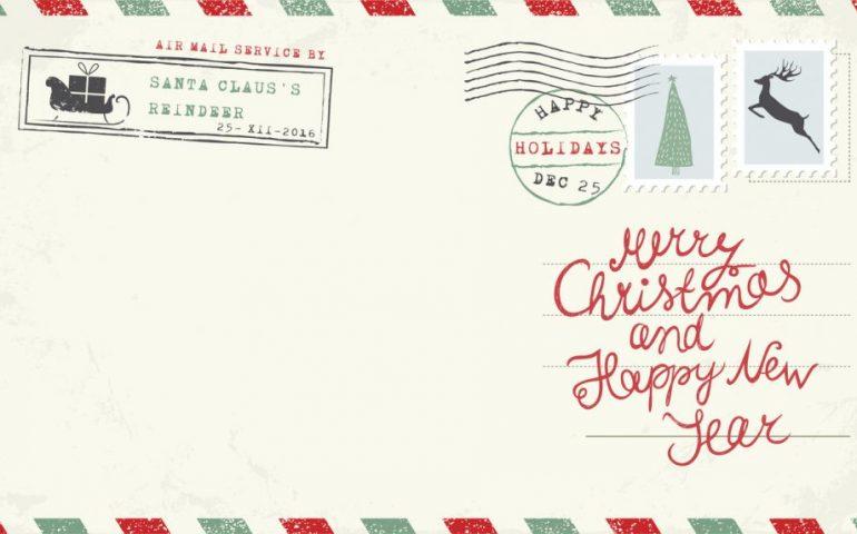 Lettera A Babbo Natale Divertente.Le Letterine Per Babbo Natale C E Chi Vuole Un Arcobaleno E