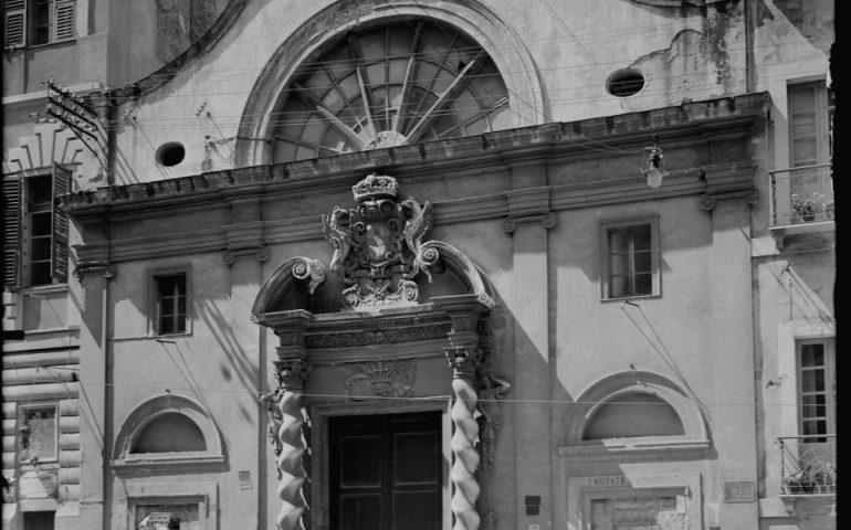 Lo sapevate? La chiesa dei Santi Giorgio e Caterina di Cagliari prima si trovava in via Manno