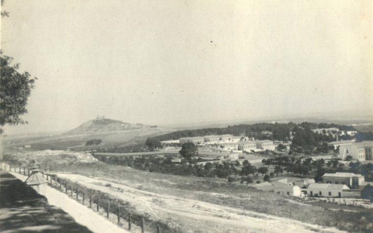 La Cagliari che non c'è più: il panorama che si vedeva nel 1906 dai Giardini Pubblici