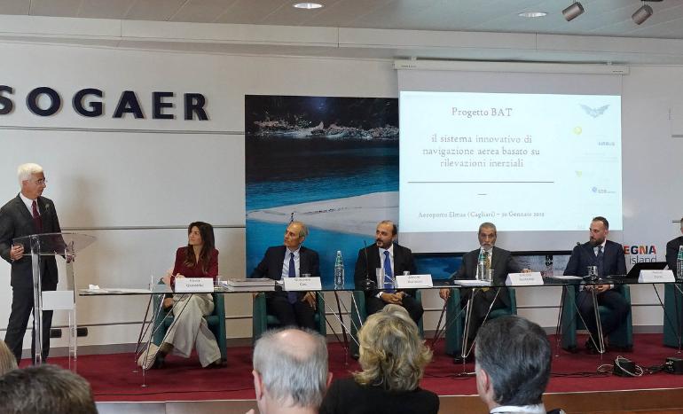 """Al via il progetto """"Bat"""": voli più sicuri senza il Gps. Paci: """"La Sardegna eccellenza internazionale nell'aerospazio"""""""