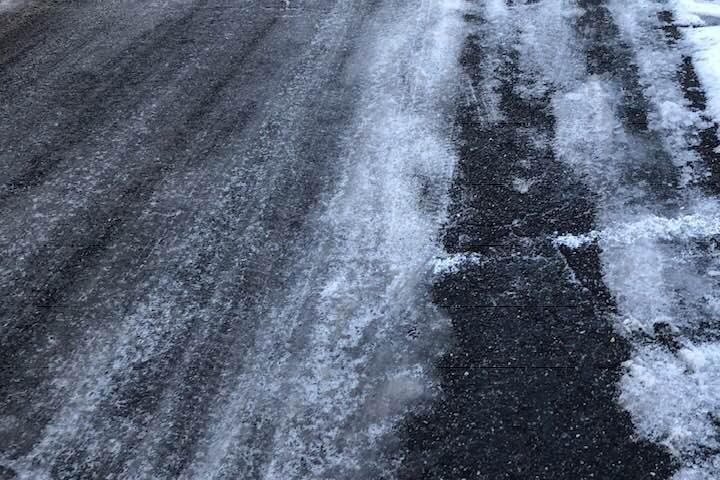 Strade ghiacciate nel Nuorese, l'appello del sindaco di Fonni