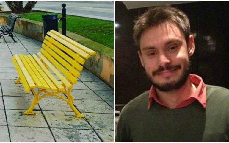 """#3annisenzaGiulio: domani a Cagliari la celebrazione """"Una panchina gialla per Giulio Regeni"""""""