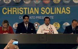 (VIDEO) Salvini-Berlusconi-Meloni: conferenza stampa congiunta del centrodestra a sostegno di Solinas
