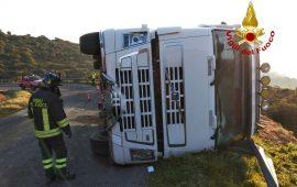 Incidente camion Allai