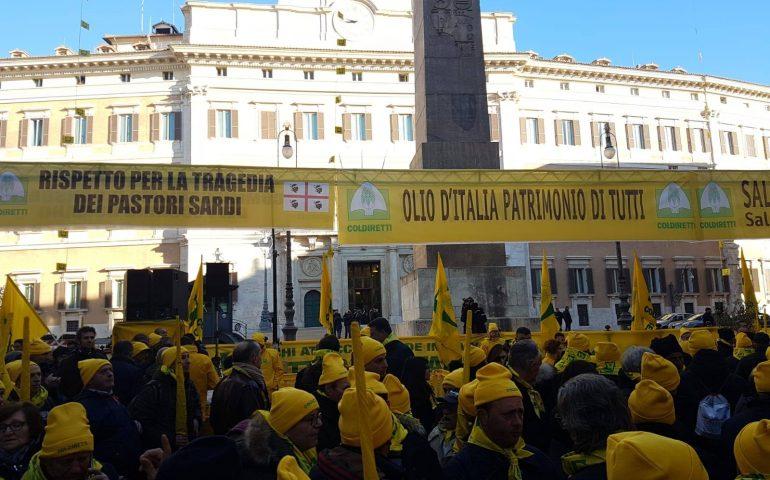 """Pastori sardi, Coldiretti: """"Durante la protesta gettati in strada 1 milione di litri"""""""