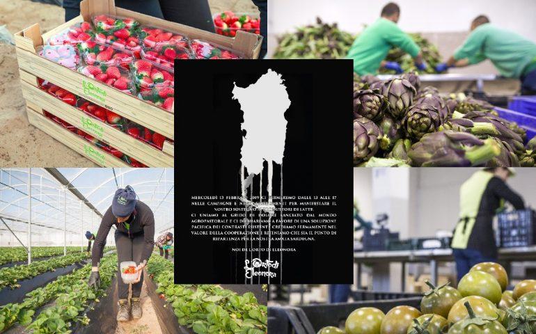 Protesta allevatori, solidarietà de L'Orto di Eleonora: l'azienda fermerà la produzione per 4 ore