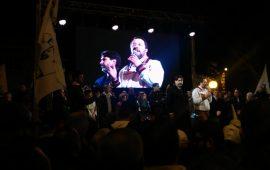 """(FOTO) Salvini e Solinas da piazza del Carmine: """"Avviso di sfratto per Pd e centrosinistra"""""""
