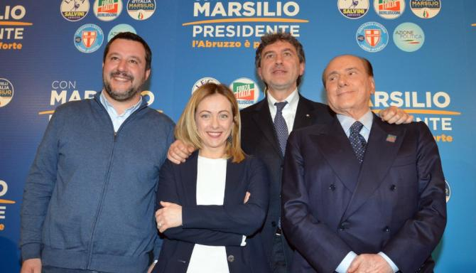 In Abruzzo trionfa il centrodestra: la Lega primo partito