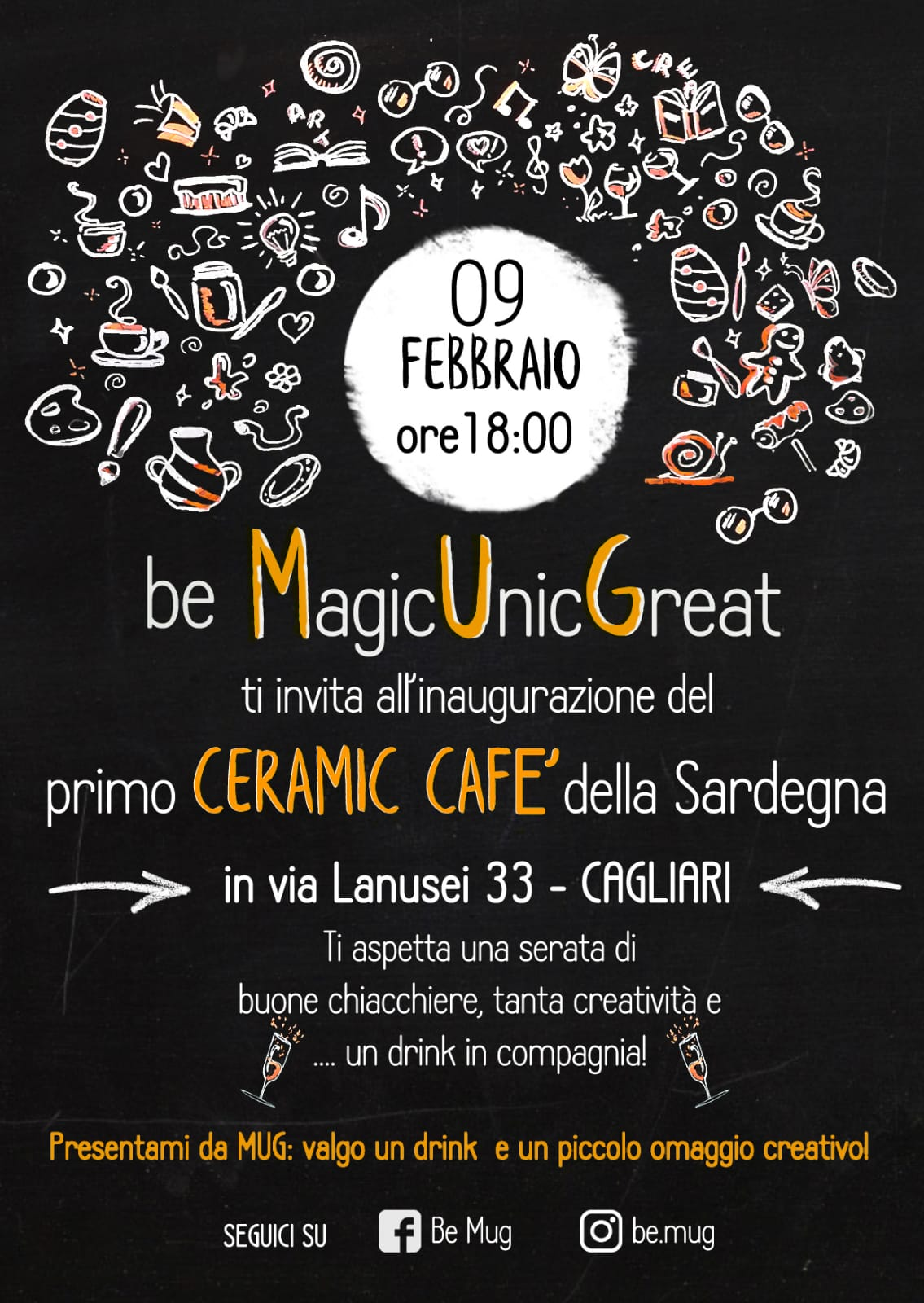L Angolo Della Ceramica.Apre A Cagliari Be Mug Il Primo Ceramic Cafe Della