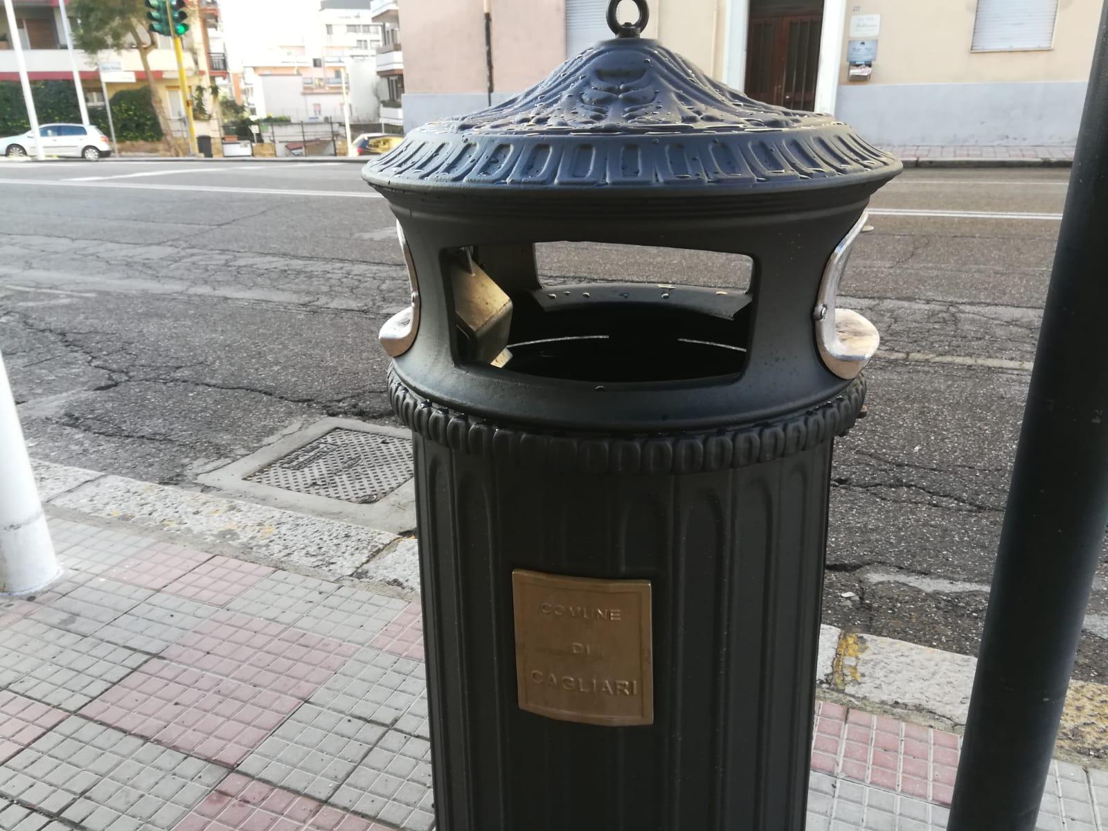 Box Per Bidoni Spazzatura cagliari: ecco finalmente i bidoni per i piccoli rifiuti e