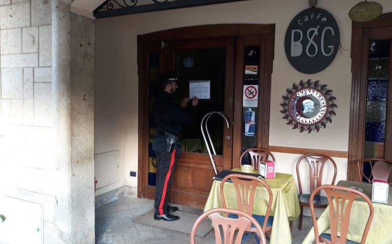 """Pula: i carabinieri chiudono il bar """"B&G"""". """"Troppe persone sospette e poco raccomandabili"""""""