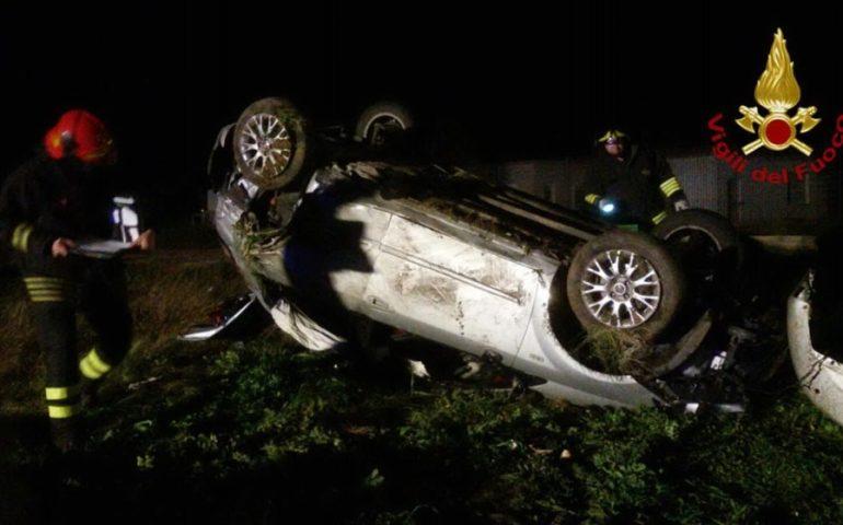 Spaventoso incidente sulla 554 all'altezza di Monserrato: cinque persone in ospedale
