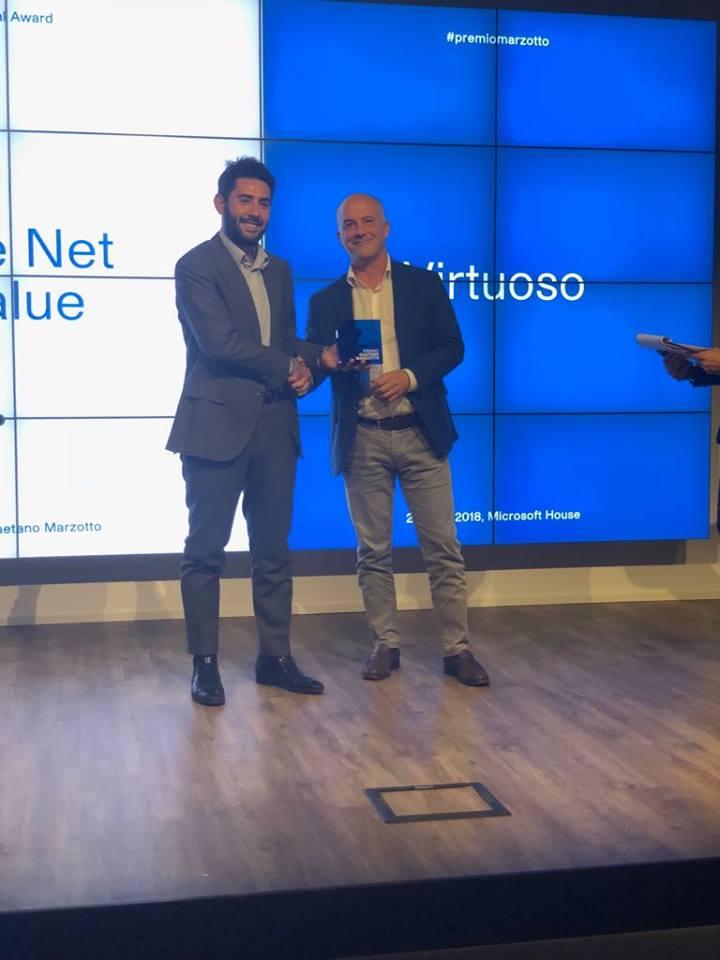 Andrea Severino di Healty Virtuoso premiata nel 2018