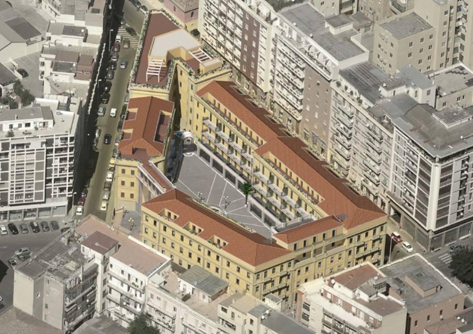 Palazzo Doglio e la riqualificazione dell'area della Basilica di San Saturnino - Foto di Matteo Lecis Cocco Ortu 6