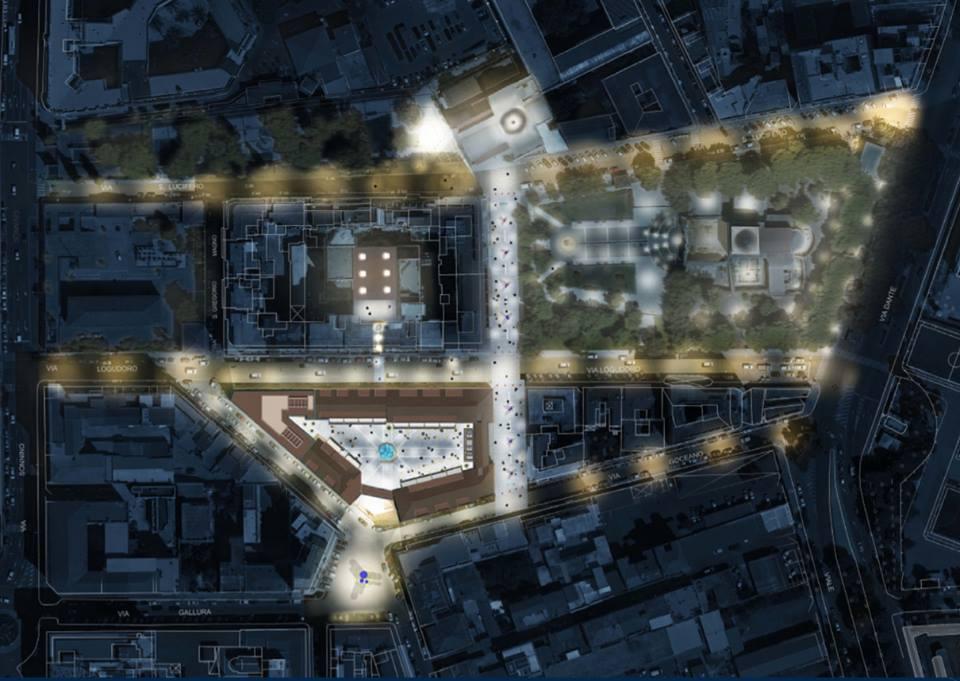 Palazzo Doglio e la riqualificazione dell'area della Basilica di San Saturnino - Foto di Matteo Lecis Cocco Ortu