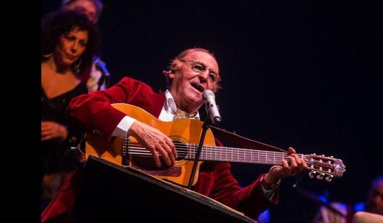 Il 22 aprile Renzo Arbore e l'Orchestra Italiana in concerto ad Alghero nel giorno di Pasquetta