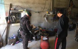 Scoperte a Monserrato due officine meccaniche abusive: scattano le sanzioni e i sequestri