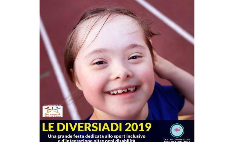 """Da domani a Cagliari, le """"Diversiadi"""", la Festa dello Sport Inclusivo, al Centro Commerciale Santa Gilla"""