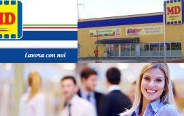 LAVORO. MD Discount cerca addetti vendita e reparti