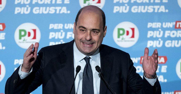Elezioni amministrative, Zingaretti in Sardegna: comizi a Cagliari e a Sassari