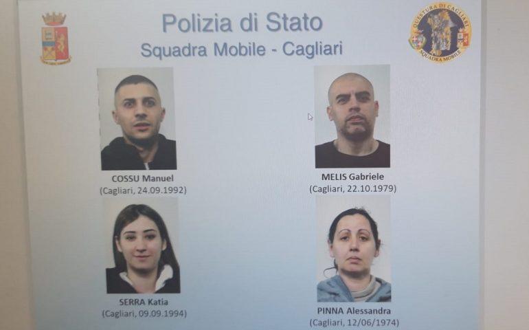 Droga e armi in casa: blitz della Squadra Mobile a San Michele, Mulinu Becciu e Pirri. Quattro arrestati