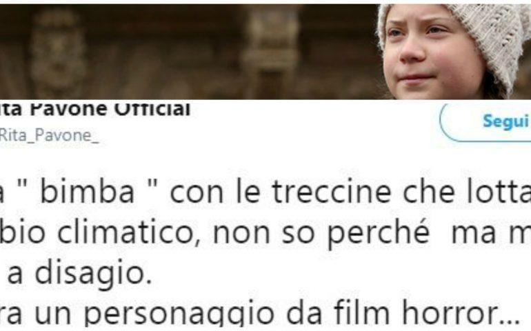 """La gaffe di Rita Pavone su Greta Thunberg diventa virale: """"Sembra un personaggio da film horror"""""""