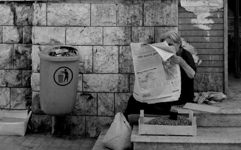 La Cagliari che non c'è più: la signora che vende capperi a San Benedetto nel 1988