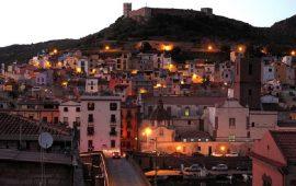 Bosa Sardinia City Evening Italy