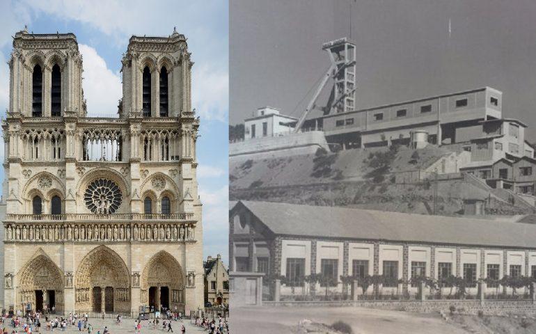 Lo sapevate? Veniva da Montevecchio il piombo del tetto di Notre-Dame