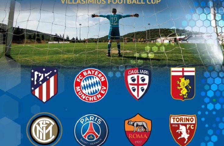 A Villasimius arrivano i campioncini di Bayern, Atletico, Inter, Psg e Cagliari