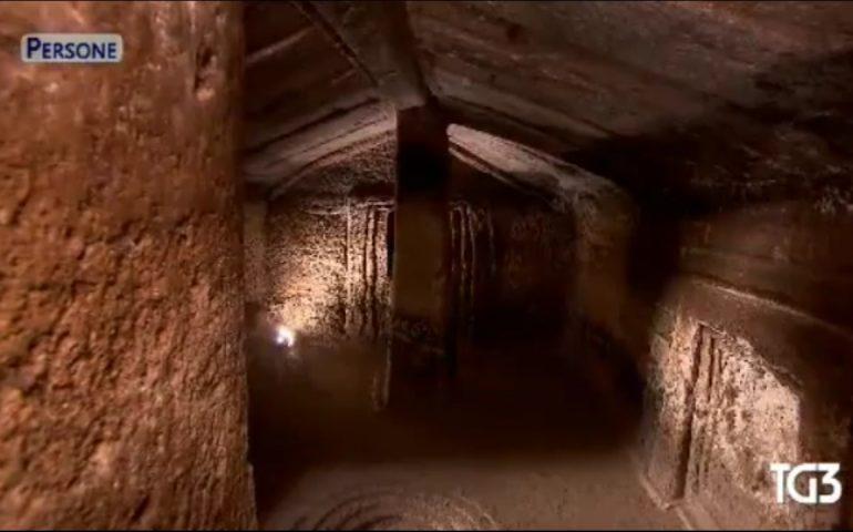 Ancora i tesori archeologici della Sardegna protagonisti alla Rai, oggi S'Incantu di Putifigari al Tg3