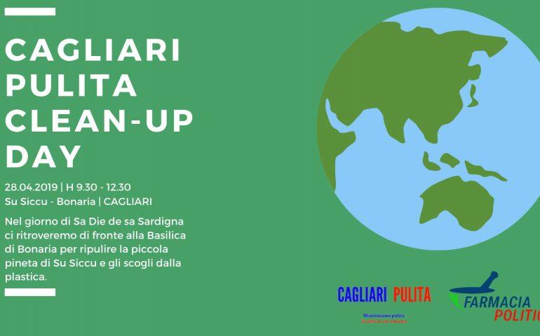 """Cagliari """"Clean up Day"""": tutti insieme per ripulire Su Siccu"""