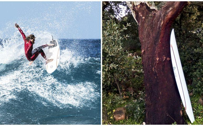 Sughero della Gallura e polistirene di Ottana: nascono in Sardegna le nuove tavole da surf eco-friendly