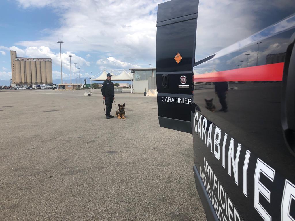 Artificieri impegnati al porto di Cagliari per un'esercitazione di antiterrorismo (5)