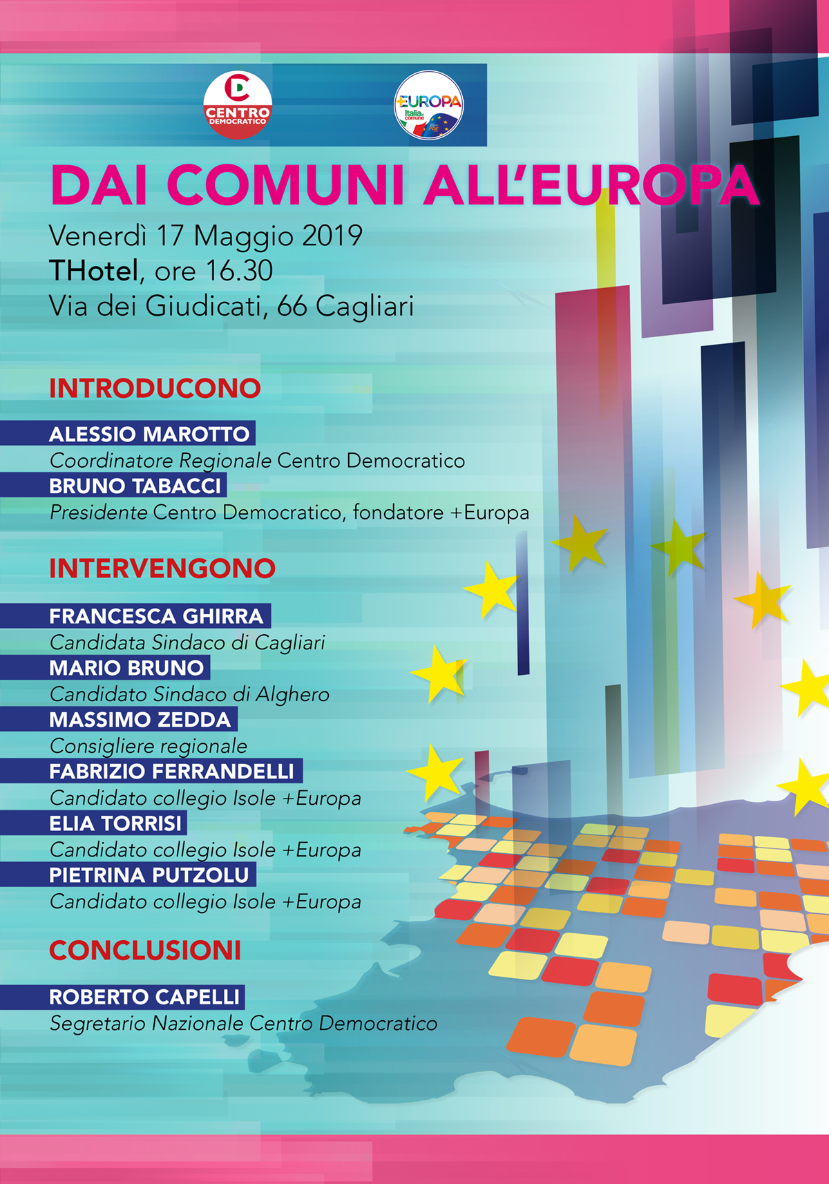 Cagliari 17 maggio 2019