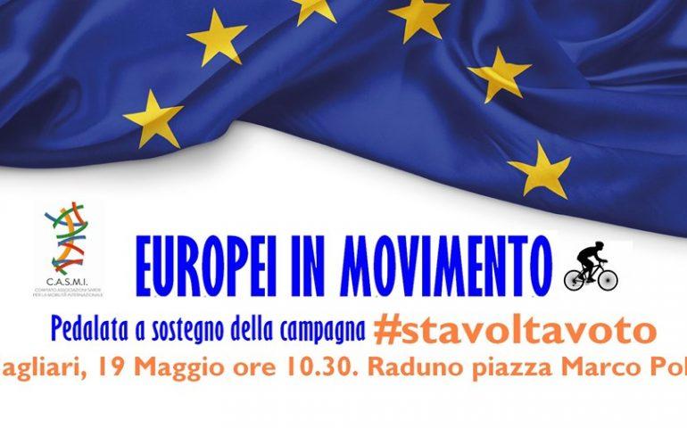 Elezioni europee. 'Europei in Movimento': a Cagliari una pedalata per portare i sardi alle urne
