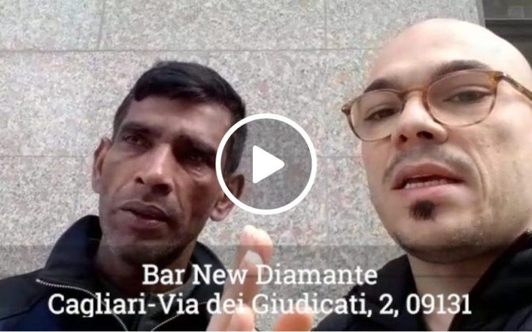 """(VIDEO) Cagliari, rubato zaino di un lavavetri, l'appello disperato: """"C'erano i miei documenti, aiutatemi"""""""