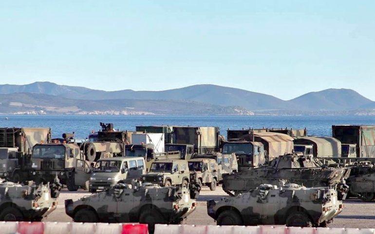 Ingente mobilitazione militare al porto di Sant'Antioco per la maxi esercitazione 'Joint Stars'