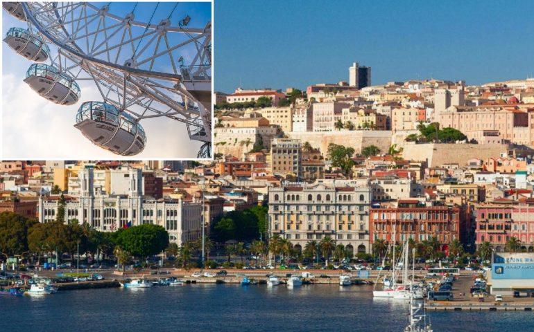 Al porto di Cagliari potrebbe sorgere una ruota panoramica con vista sulla città. Favorevoli o contrari?