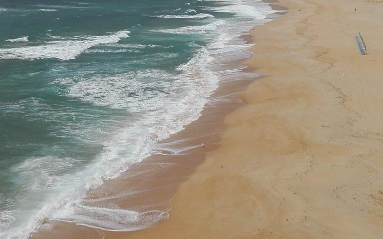La foto. La spiaggia di Torre dei Corsari sferzata dal Maestrale