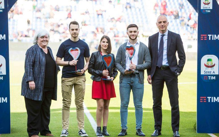 Il Cagliari Calcio premia le idee degli studenti dell'Università di Cagliari per il centenario della squadra rossoblù