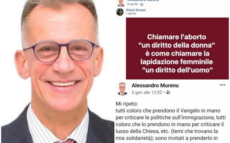 Cagliari: bufera sul candidato sindaco Murenu per i suoi post contro aborto e omosessuali