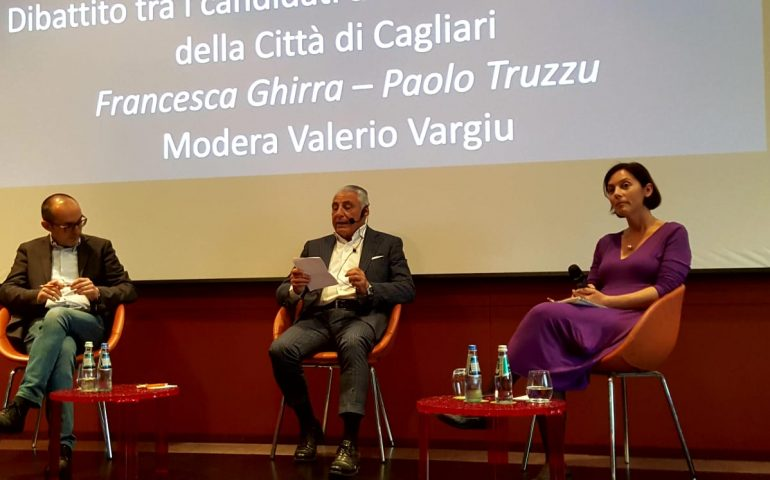 Comunali Cagliari: primo confronto pubblico tra Francesca Ghirra e Paolo Truzzu