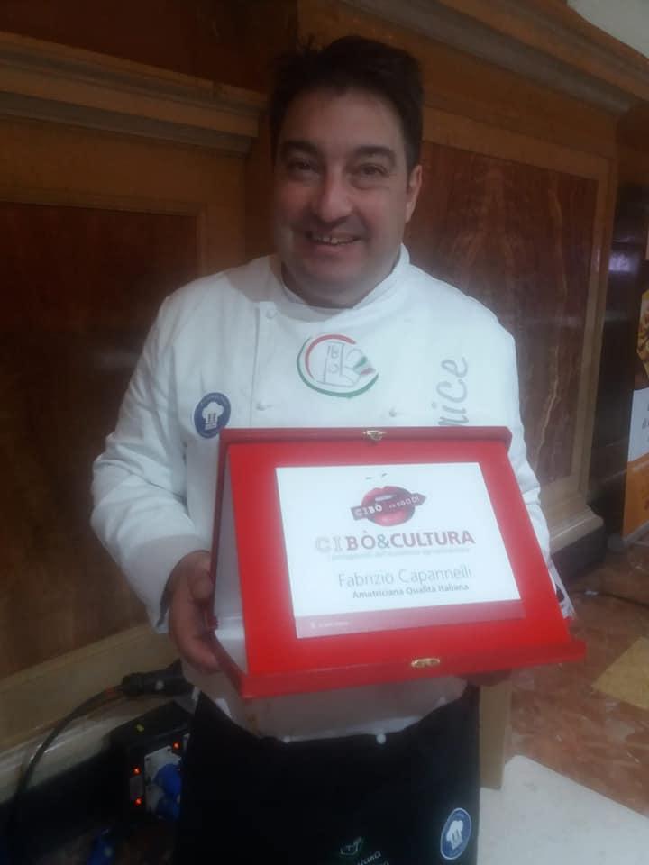 Chef Fabrizio Capannelli