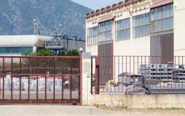 Lo stabilimento Rwm - Foto di Comitato di Riconversione di Rwm
