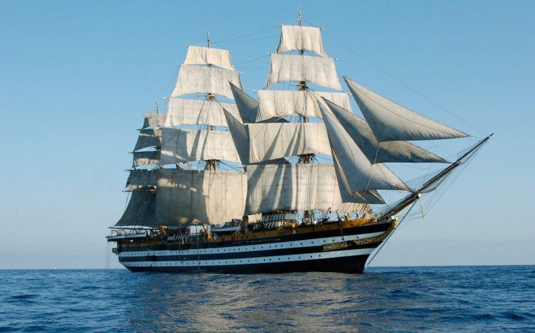 Domani ritorna a Cagliari l'Amerigo Vespucci, la nave più bella del mondo