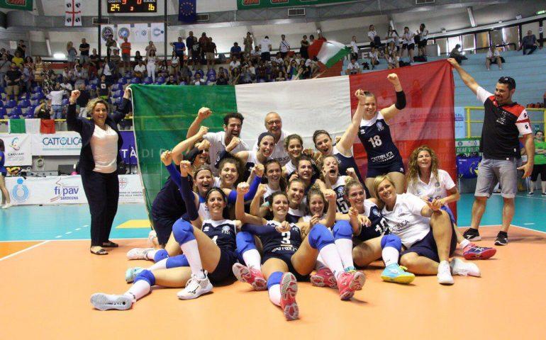 È medaglia d'oro a Cagliari per le Azzurre del Volley Sorde: le atlete italiane continuano a dare grandi soddisfazioni
